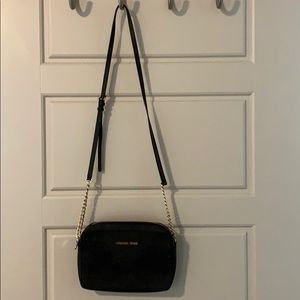 Michael Kors Black leather satchel
